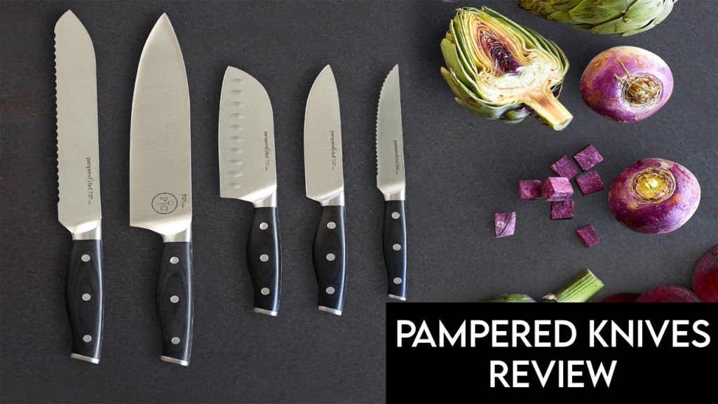 pampered chef knives review
